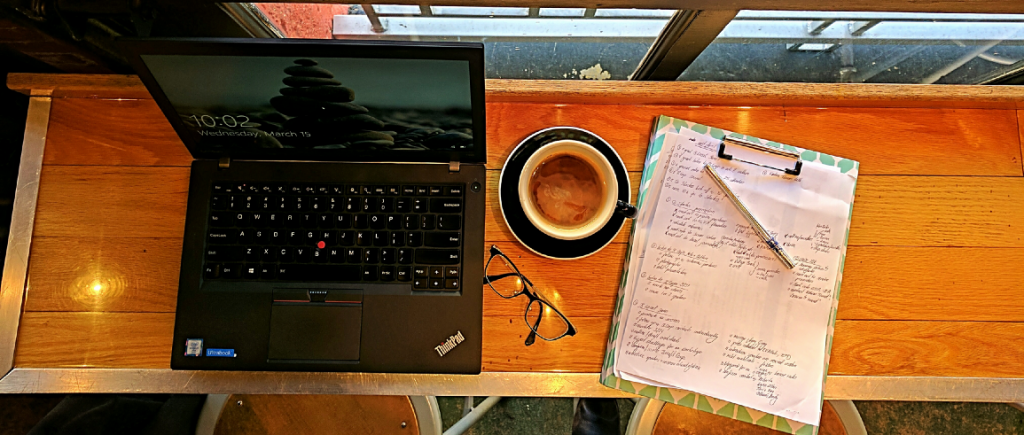 My office away from the office: Lamplighter in Richmond, VA